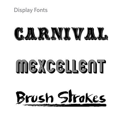 Display Fonts-1