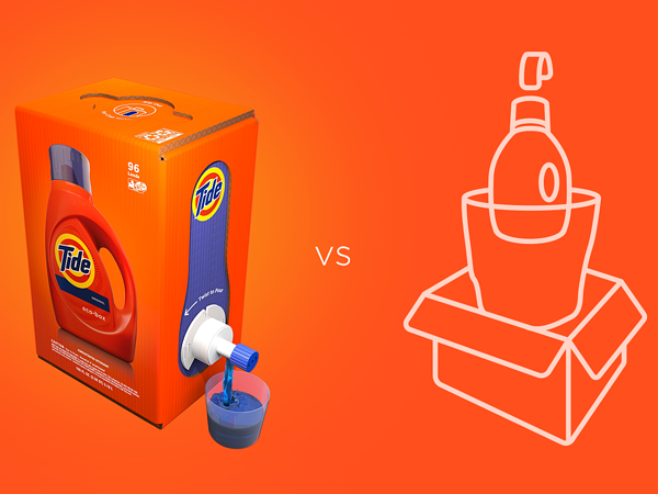 Tide for Amazon via Packaging Europe